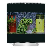 Doors In Cozumel Shower Curtain