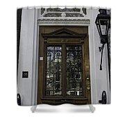 Doors Of Amsterdam 01 Shower Curtain