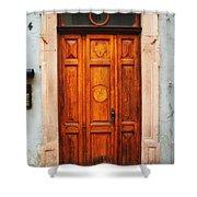 Doors Of Europe Shower Curtain