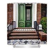 Doors Of Historic Charleston Shower Curtain