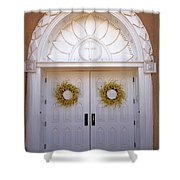 Doors Of San Francisco De Asis Shower Curtain