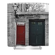 Doors Of St. Augustine Shower Curtain