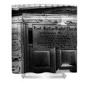 Doors Of Worship Shower Curtain