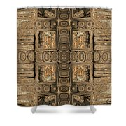 Doors Of Zanzibar Allspice Shower Curtain
