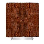 Doors Of Zanzibar Cayenne Shower Curtain