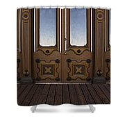 Doors To The Old West Shower Curtain