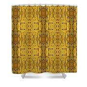 Doors Zanzibar Saffron Shower Curtain