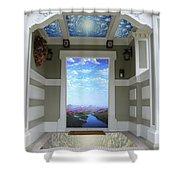 Doorway 14 Shower Curtain