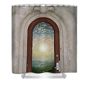 Doorway 17 Shower Curtain