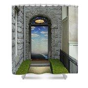 Doorway 2 Shower Curtain
