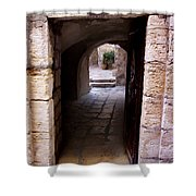 Doorway In Old City Jerusalem Shower Curtain