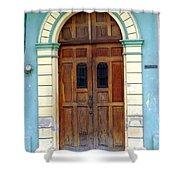Doorway Of Nicaragua 001 Shower Curtain