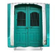 Doorway Of Nicaragua 002 Shower Curtain