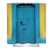 Doorway Of Nicaragua 003 Shower Curtain