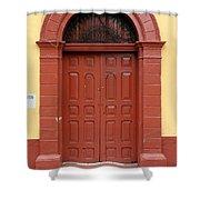 Doorway Of Nicaragua 004 Shower Curtain