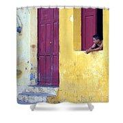 Doorway Of Nicaragua 005 Shower Curtain