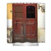Doorway Of Nicaragua 006 Shower Curtain
