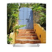 Doorway To Paradise Shower Curtain