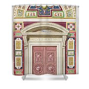 Doorway To The Raphael Loggia Shower Curtain