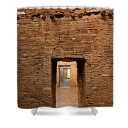 Doorways In Pueblo Bonito Shower Curtain