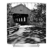 Dorena Covered Bridge Shower Curtain