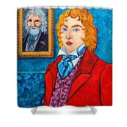 Dorian Gray Shower Curtain