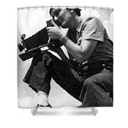 Dorothea Lange (1895-1965) Shower Curtain