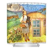 Dorothy And Toto  Shower Curtain