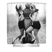 Dorothy Sebastian And Crawford Shower Curtain
