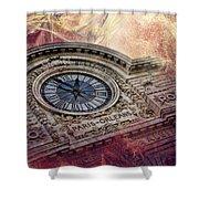 D'orsay Clock Paris Shower Curtain