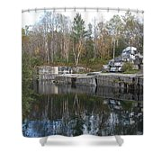 Dorset Quarry Shower Curtain