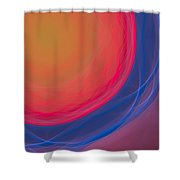 Dot-03 Shower Curtain