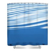Dots And Dashes Shower Curtain