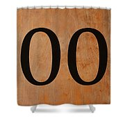 Double 0 Shower Curtain