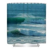 Double Action Shower Curtain