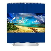 Double Bow Shower Curtain