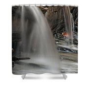 Double Cascade Shower Curtain