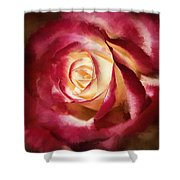 Double Delight Beauty Shower Curtain