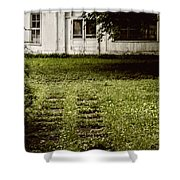 Double Path Shower Curtain