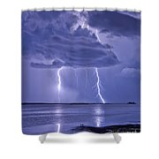 Double Reflection Shower Curtain
