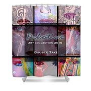 Double Take Art Collection Shower Curtain
