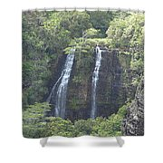 Double Waterfall Shower Curtain