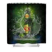 Double X Shower Curtain