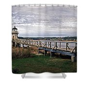 Doubling Point Light Shower Curtain
