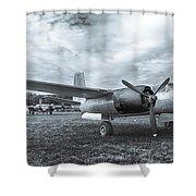 Douglas A-26 Invader 3770b Shower Curtain