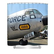 Douglas C-133 Cargomaster Shower Curtain