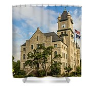 Douglas County Courthouse 2 Shower Curtain