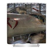 Douglas X-3 Stiletto Shower Curtain