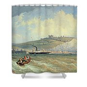 Dover, 19th Century Shower Curtain