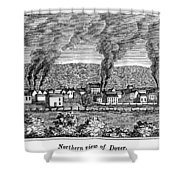 Dover, New Jersey, 1844 Shower Curtain